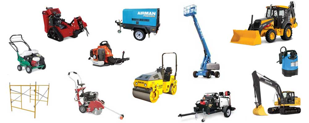 Construction Equipment & Tool Rentals in Reading Pennsylvania, Fleetwood, Blandon, Temple PA