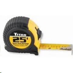 Rental store for TAPE MEASURE, 25FT GRIPPER in Reading PA