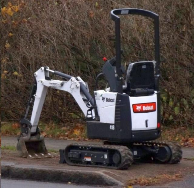 Where to find EXCAVATOR, BOBCAT 418 W  SCRUBBER in Reading