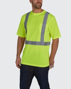 Rental store for APPAREL, REFLECTIVE SHORT SLEEVE MED-XL in Reading PA