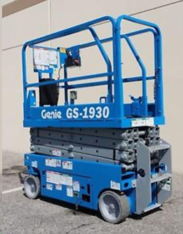 Where to find LIFT 19 X30   GENIE  SCISSOR LIFT  6 in Reading