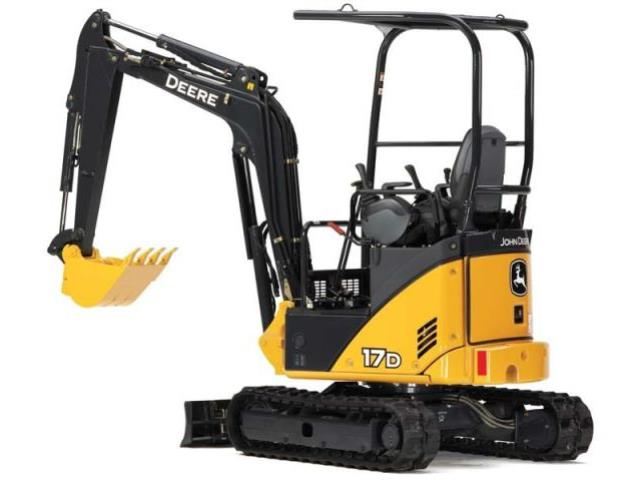 Where to find EXCAVATOR, JOHN DEERE 17G in Reading