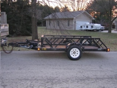 Rental store for TRAILER,   4000  SINGLE AXLE DROP DECK in Reading PA