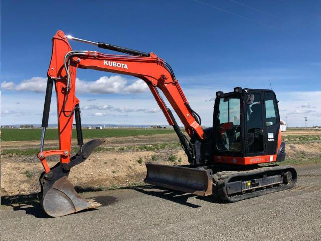 Where to find EXCAVATOR, KUBOTA KX080 in Reading