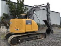 Rental store for EXCAVATOR, JOHN DEERE 135G W  THUMB in Reading PA