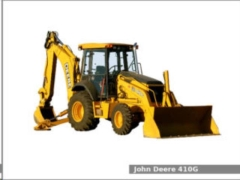 Rental store for BACKHOE, FULL SIZE JD 410 G  4 in Reading PA