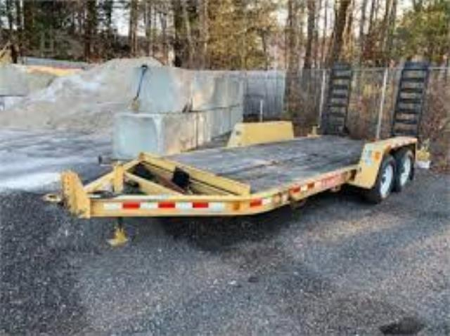 Where to find TRAILER, 10,000  18  W RAMPS  11 YELLOW in Reading