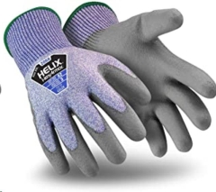 Rental store for GLOVES, BLUE GRAY HVY DUTY RUB PALM  L in Reading PA