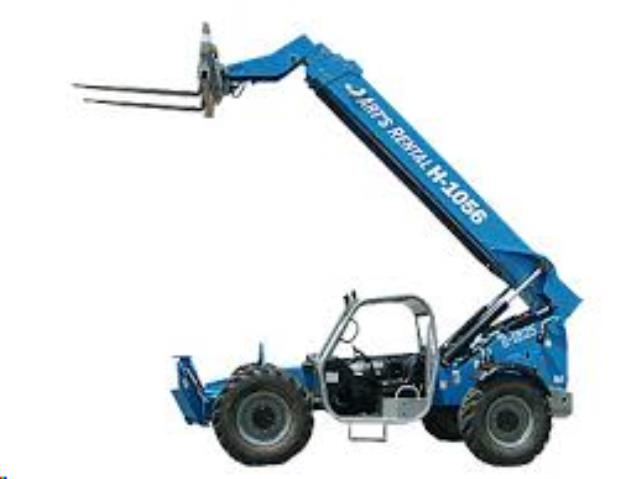 Where to find FORKLIFT, TELEHANDLER 56  10,000LB 4X4 in Reading