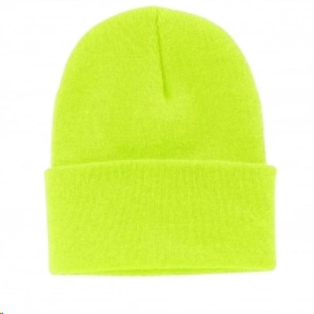 Where to find HAT, BEANIE KNIT NEON YELLOW in Reading