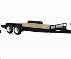 Rental store for TRAILER, OPEN CAR HAULER 18   WOOD DECK in Reading PA