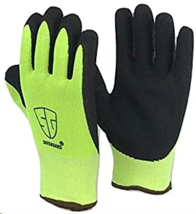 Where to find GLOVES, YELLOW HI-VIZ RUBBER PALM in Reading