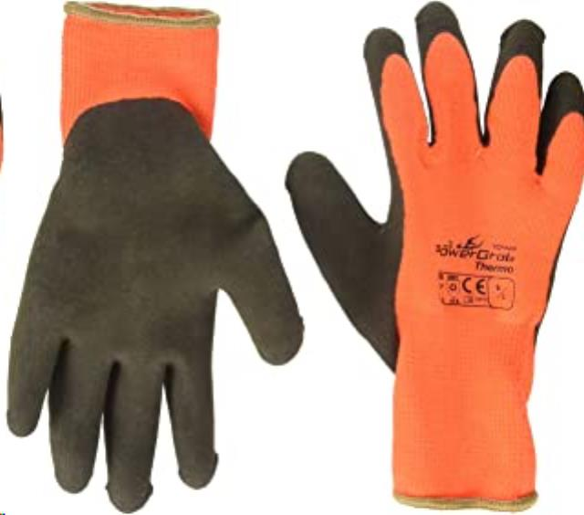Where to find GLOVES, ORANGE YELLOW INSULATED in Reading