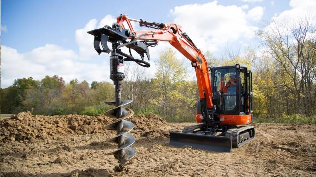 Where to find EXCAVATOR, AUGER ATTACHMENT in Reading