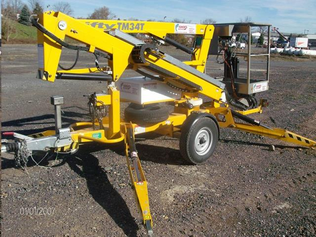 Where to find LIFT 34  TOWABLE BUCKET LIFT in Reading