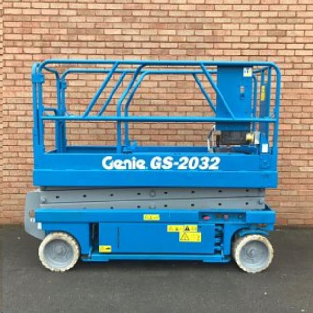 Where to find LIFT 20 X32   GENIE  SCISSOR LIFT  12 in Reading