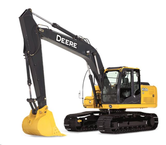 Where to find EXCAVATOR,, JOHN DEERE 160D in Reading