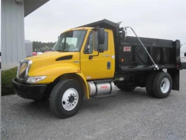 Where to find DUMP TRUCK  2 YELLOW, INTERNATIONAL 4300 in Reading