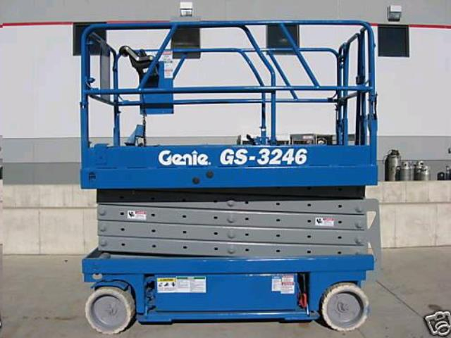 Where to find LIFT 32 X46   GENIE  SCISSOR LIFT  19 in Reading