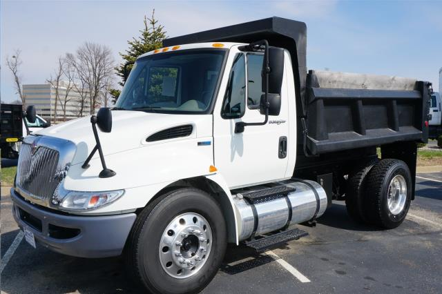 Where to find DUMP TRUCK  1 WHITE, INTERNATIONAL 4300 in Reading