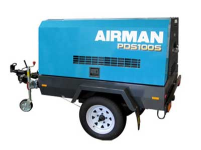 Compressor rentals in Berks County