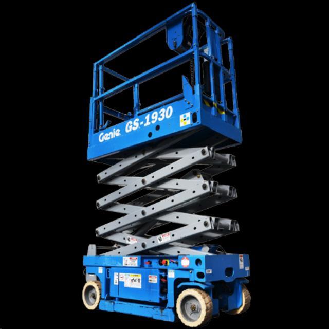 Lift 19 foot x30 inch genie scissor lift 2 rentals Reading PA