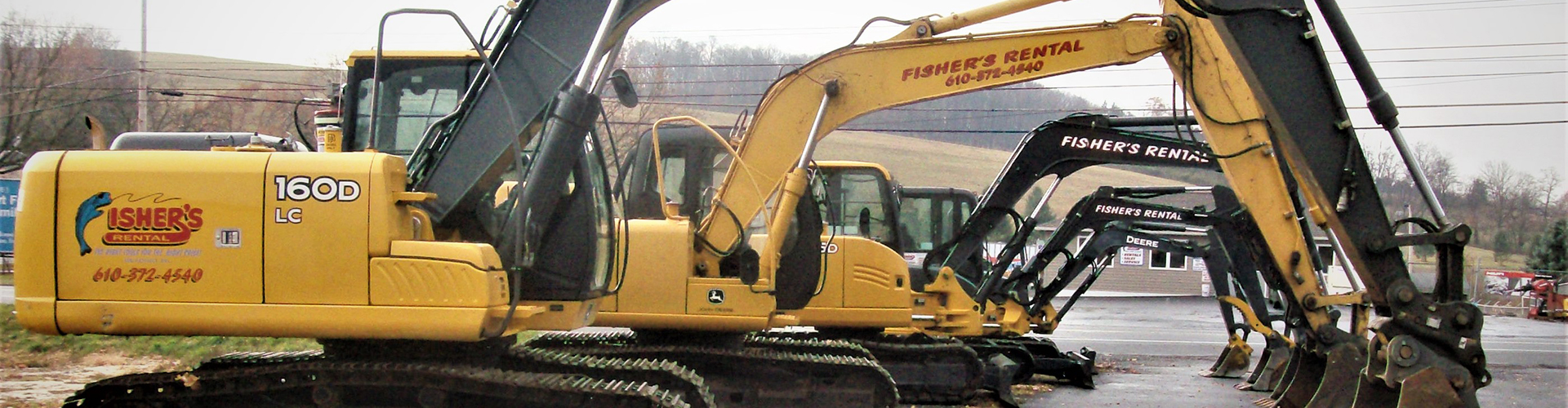 Equipment Rentals in Berks County